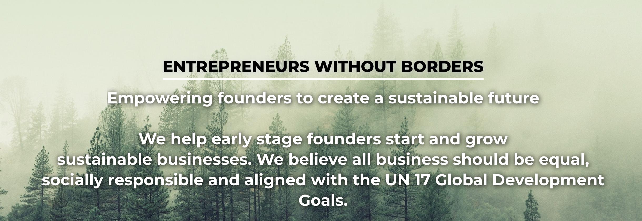 Entrepreneurs Without Borders