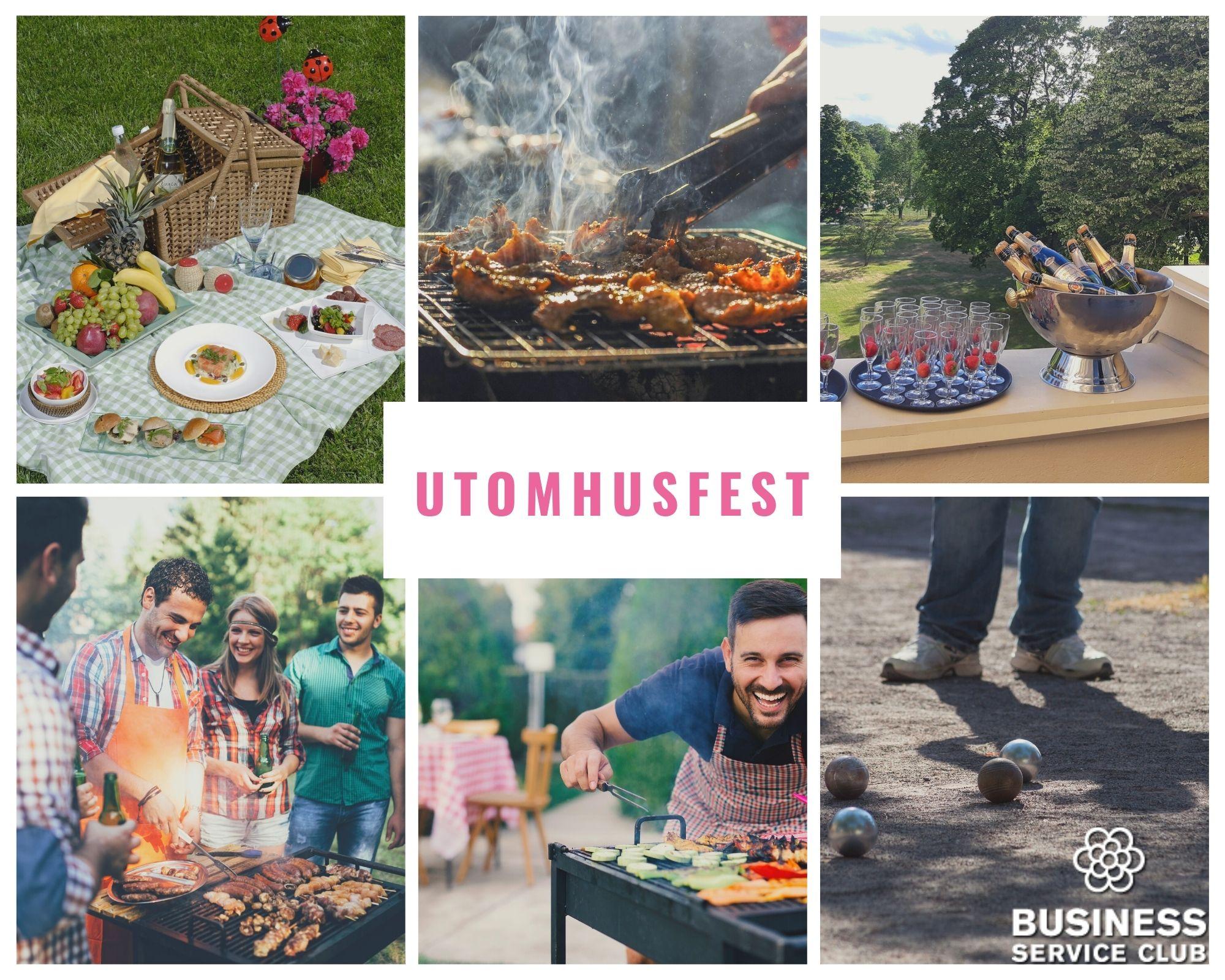 Utomhusfest och sommarfest