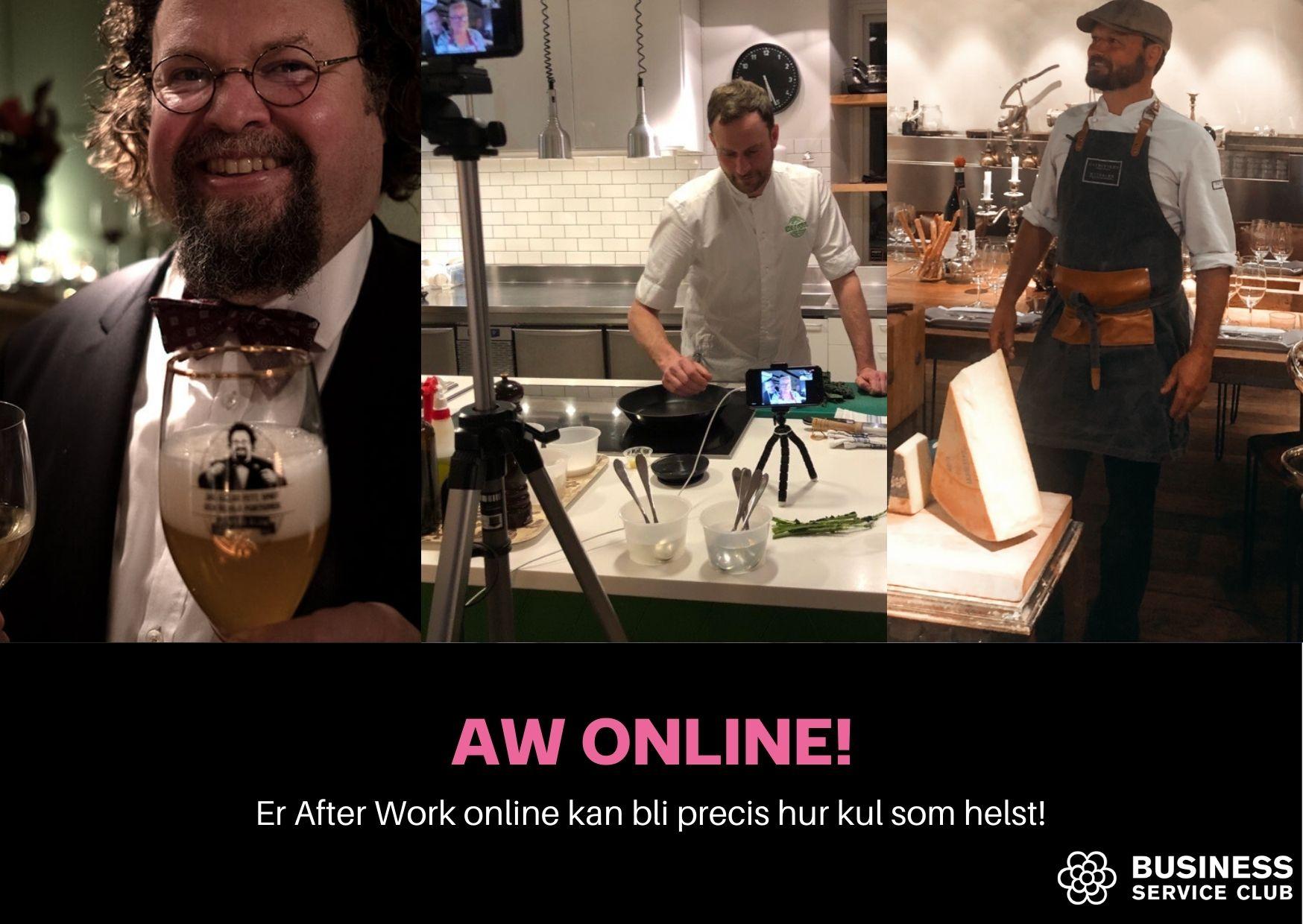 Dags för AW online