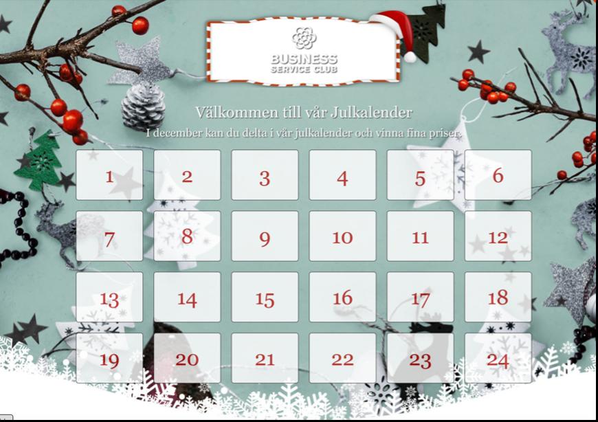 Julkalender för julen 2021